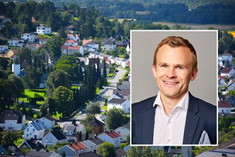 BOLIGSALG: Våren er ikke nødvendigvis det beste tidspunktet for å selge bolig, mener daglig leder i Krogsveen Sandefjord, Andreas Haraldsen.