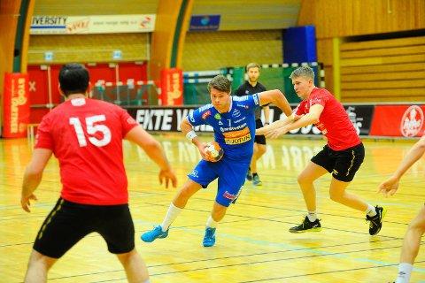 NY SERIERUNDE: André Tuzov og Sandefjord Håndball møter ØIF Arendal i andre serierunde, mens Runar møter Halden Topphåndball.
