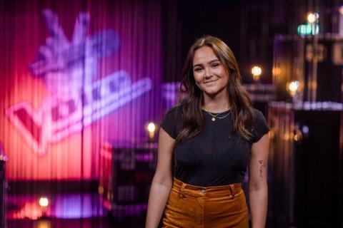 VIL IMPONERE MENTORENE: Miriam Kristoffersen (20) er en av ni artister på The Voice fredag kveld.