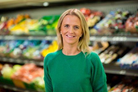 FISKEPUSHER: Kristine Aakvaag Arvin, kommunikasjonsjef i Kiwi.