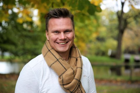 SNART NY JOBB: 2. desember tiltrer Christian Thorsen Egeberg stillingen som eiendomssjef i Sandefjord kommune.