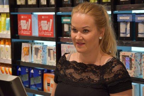 FORNØYD: Til tross for et par dager med lite søvn er Anja Ronander blid etter onsdagens nyhet.