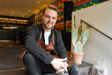 HAR STENGT: Kristoffer Halvorsen, eier og driver av Mønsj Street Food, har stengt restauranten, ettersom det ikke lot seg gjøre å opprettholde sunn økonomi.