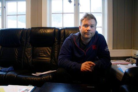 KJEDELIG NÅR ALT VAR KLART: Daglig leder Halvor Jamtveit i Kongsberg Skisenter hadde sett fram til en knallstart på sesongen. Slik ble det ikke.