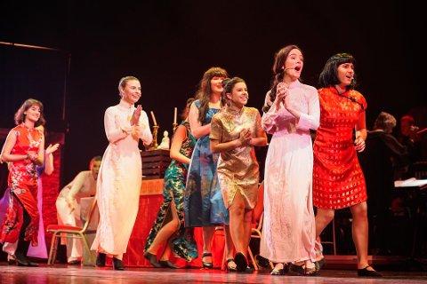 SVGS: Elevene imponerte i sin oppsetningen av Miss Saigon.