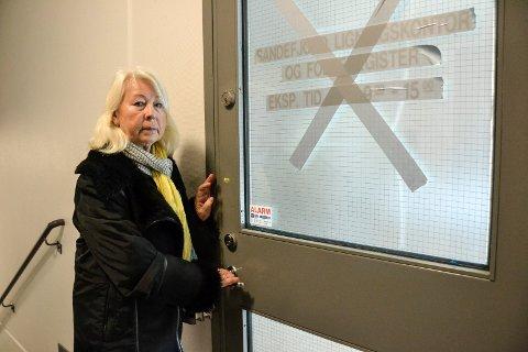 INGEN INFORMASJON: Luba Stene kom ikke bare til stengt dør og nedlagt kontor da hun skulle ha en bostedsattest – hun fikk heller ingen informasjon om den nye adressen.