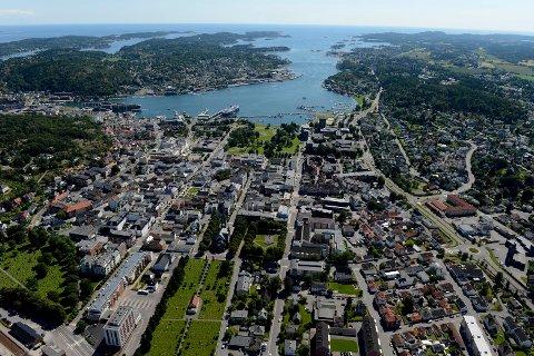INNTEKT: Sandefjordingene tjener i snitt mindre en innbygerne i Tønsberg og Horten.