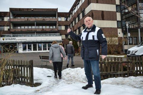 FORTGANG: Leder i eldrerådet, Ragnar Klavenes, vil ikke ha nye vedtak om sykehjemsutbygging ved Nygård – han vil ha fortgang.