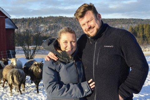 FORELDRE: Erik Grytnes og Maria Bjørndal har fått en sønn.