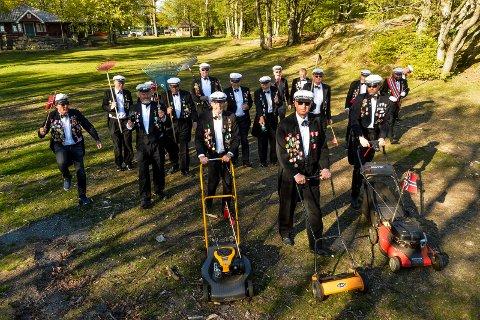 HAGERESKAP: Hvalkjæften er inne i sitt jubileumsår og klargjør festplassen for sin 30. konsert i Preståsen.
