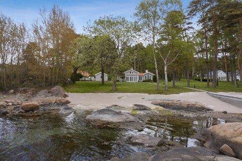 REKORD: Dette er den dyreste hytta som er solgt i Sandefjord til nå.