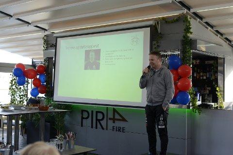 Einar Veierød er ny hovedtrener for Sandefjord G16