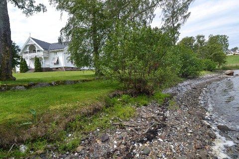 NEDRE SKJÆRSNES: Gården i Stokke ligger ved Tønsbergfjorden nord for Oslofjord Convention Center. Eiendommen har 227 mål dyrka mark og 277 mål skog.