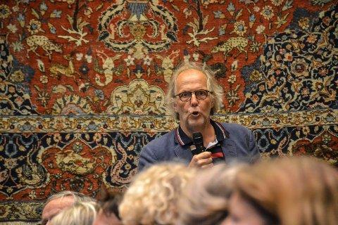 BÅDE-OG: Hans Huseby mener kommunen må intensivere jordvernet. Han gir ros for den senere tids utvikling, men mener likevel at Sandefjord er en versting i Vestfold.