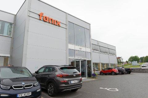 HOVEDKONTOR: Den hundre prosent kommunalt eide attføringsbedriften Fønix AS har hovedkontor i Nygårdveien på Pindsle.
