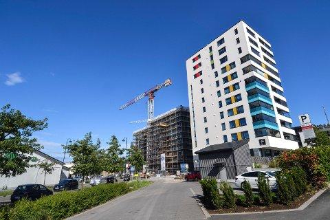 MER AV DETTE: Nær én av tre som har en mening om boligbygging i Sandefjord mener nye prosjekter bør komme gjennom høyere bygg i byen. Bildet er tatt ved Kilen Brygge.