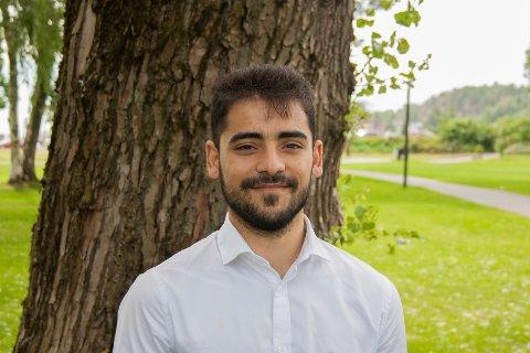 Nechirvan (23) flyktet fra Syria som 17-åring. Nå har han fått fagprisen på SVGS og skal bli byggingeniør