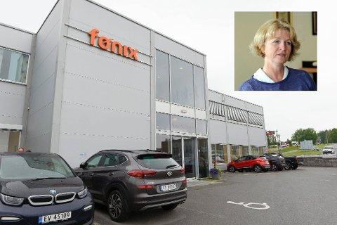 NEDBEMANNER: Fønix AS har sitt hovedkontor på Pindsle i Sandefjord. Nå har bedriften blitt åtte færre, og to av de som jobber i Sandefjord må se seg om etter ny jobb.