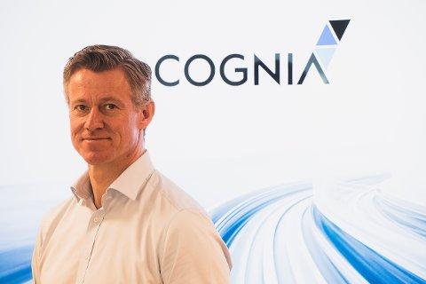 BLIR MAJORITETSEIER: Grant Larsen i Cognia skal jobbe tett med DK Skadesenter Holding.