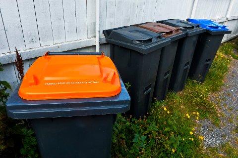 NYE DUNKER: Alle eneboliger får standardbeholder på 140 liter. Husstander som har samarbeids-/fellesløsninger  får  utlevert større  beholdere  tilpasset  sitt  behov.