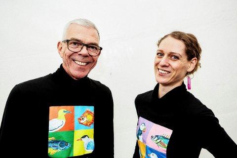 INVITERT: Astor Andersen og Kari Prestgaard er invitert i to uker til et besøk på Svalbard i forbindelse med deres kunstprosjekt med plast. De ønsker økt oppmerksomhet om de store plastforekomstene i verdenshavene.