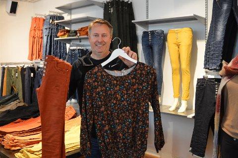 SUKSESS: Tor Magnus Kubara gjør det godt i klesbransjen.