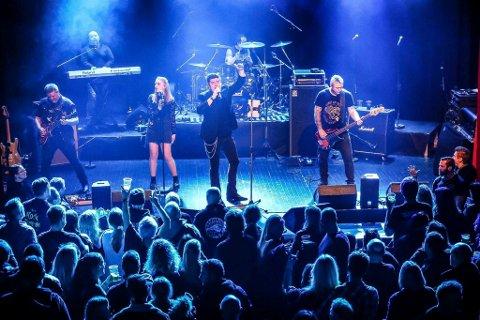Classic Rock i Verdensteateret. Her er det tribute-bandet Rock The Night-Europe fra en tidligere konsert.