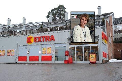 UTVIDER: Coop utvider i Sandefjord og fra mai 2020 vil ytterlige to Extra butikker være i drift. – Vi gleder oss veldig, sier Anne Berg Behring (innrammet), administrerendedirektør i Coop Vestfold og Telemark.