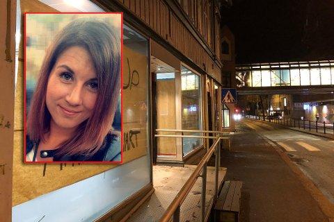 SATSER I SENTRUM: Da Stine Marie  Rød så at dette lokalet i Tønsberg sentrum sto tomt, fikk hun en idé: – Man må tørre å satse hvis man vil få til noe, sier hun.