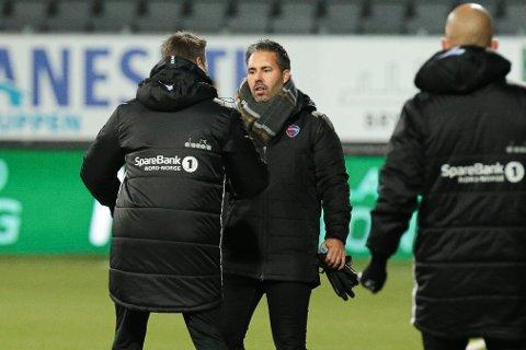 FERDIG: Martì Cifuentes får ikke fornyet kontrakten med Sandefjord Fotball.