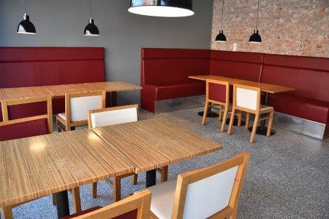 FLYTTET: Perfect Pizza etablerte seg i nye lokaler tidligere i år.
