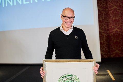 GOD UKE: På vegne av Soil Steam AS tok Hans Kristian Westrum imot «TENK STORT»-prisen.