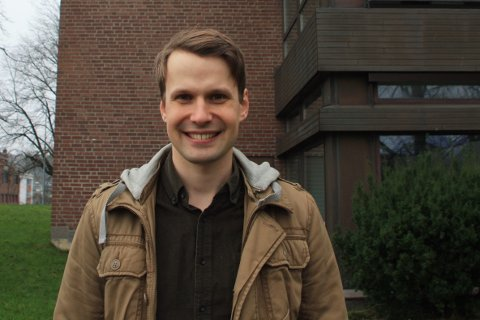 Prosjektleder: Sivilingeniør i bygg, Knut André Kaada, trives i jobben som prosjektleder i eiendomsseksjonen i Sandefjord kommune.