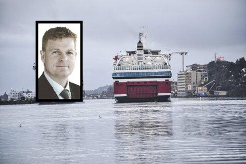 NY SJEF: Brian Thorsed Hansen starter i jobben som ny konsernsjef i Fjord Line 18. januar.