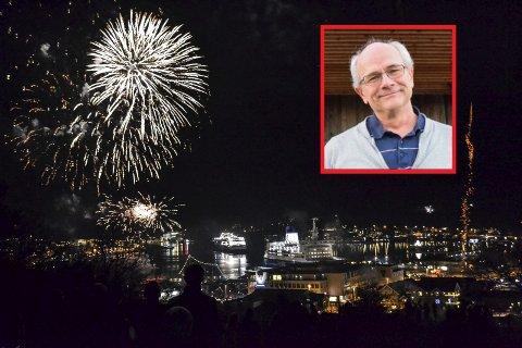 SMITTVERNESJEF: Kommuneoverlege Ole Henrik Augestad håper folk også overholder smittevernreglene under nyttårsfeiringen.