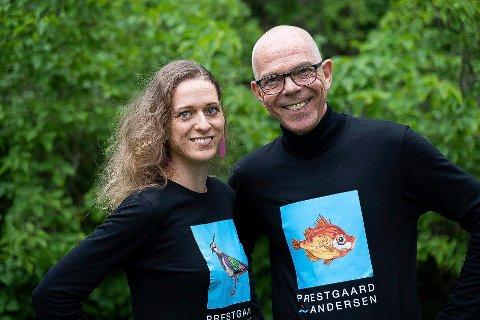 ÆREFULLT: – Det er ærefullt å vinne, sier kunstneren Kari Prestgaard, som sammen med Astor Andersen er invitert til Genève for å motta FN-prisen.