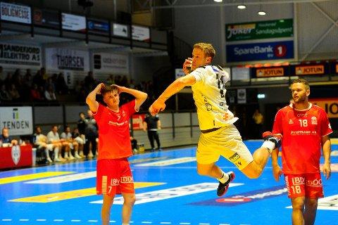 Michael Jonassen og Runar kjempet iherdig med mål om poeng forrige helg mot Haslum, men lyktes ikke.