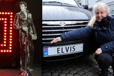 PERSONLIG: Cathrine Homanberg får ikke nok av Elvis og amerikansk kultur.