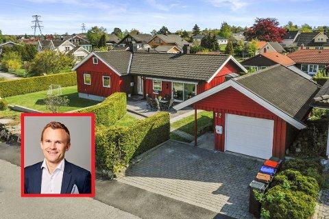OPTIMIST: Daglig leder i Krogsveen Sandefjord, Andreas Haraldsen, sier aktiviteten i boligmarkedet går opp etter koronakrisen. I mai i år ble det solgt flere boliger i Sandefjord enn samme måned i fjor.