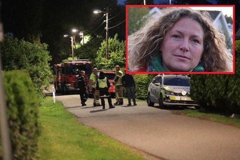 Politiet har natt til søndag holdt vakt utenfor ordførerens bolig. Hilde Hoff Håkonsen (AP) reagerer sterkt på at ordførerens bolig har vært utsatt for et angrep. - Det er forkastelig og jeg håper de som har gjort det blir tatt, sier hun.