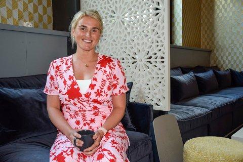 FORLOT OSLO: Mathilde Jacobsen Blaasvær (30) har etablert seg i hjembyen Sandefjord med familien, etter å ha bodd flere år i blant annet Oslo.