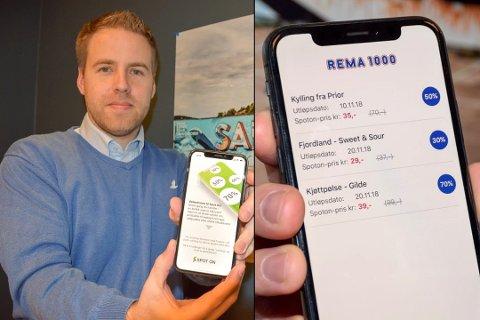 «VINN-VINN»: Gründer og daglig leder i Spot On Shop AS, Bent Sondre Nielsen (37) fra Sandefjord, lanserte appen denne uka.