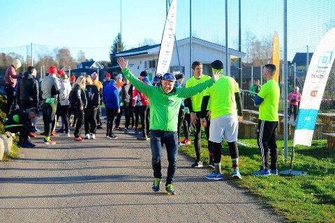 KJØRER PÅ: For syvende gang inviterer Marius Nordby og teamet hans til Backyard-løp på Haukerød. Arkivfoto: Ann Kristin Saastad