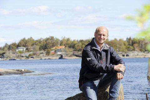 BRENNHETT HYTTEMARKED: Tore Solberg, fritidsboligmegler i Eiendomsmegler 1. Arkivfoto: Terje Wilhelmsen