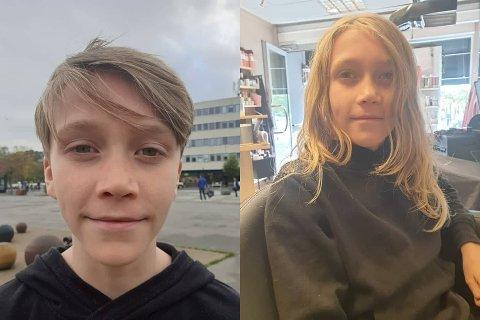 HÅRKLIPP: Trym Meyer Olavson (11) donerte forrige uke håret han har spart siden førsteklasse.