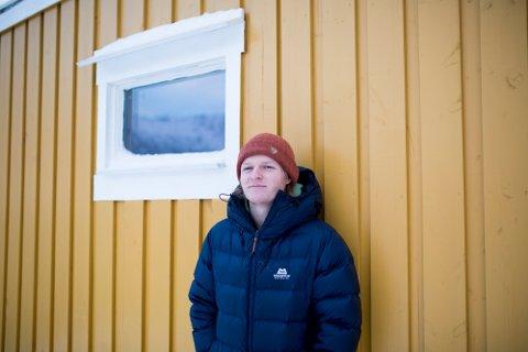 GRÜNDER: Sandefjord-mannen Rolf Oftedal (27) er bosatt i Lofoten, hvor han er medeier og styreleder i Arctic Coworking Lodge AS. – Det hadde vært kult om noen sandefjordinger hadde booket plass hos oss, sier Rolf, som for øvrig røper at han drømmer om å starte flere bedrifter i framtiden.