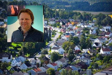 BEKYMRENDE: Boligprisene fortsetter å øke, og i januar lå den åtte prosent høyere enn på samme tid i fjor. Daglig leder aksel Holm i DNB Eiendomsmegling i Sandefjord er bekymret for at denne utviklingen skal fortsette.