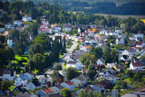 170 eiendommer skiftet eier i forrige måned.