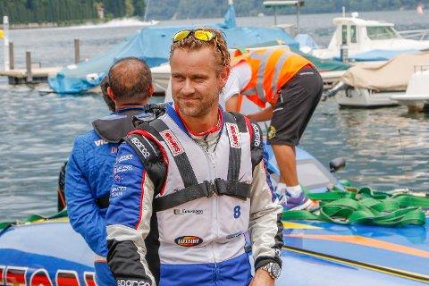 KLAR: Pål Virik Nilsen er i bedre form enn noen gang, og har alle ambisjoner om å vende tilbake i båtsporten. Arkivfoto: Marzia Benincasa