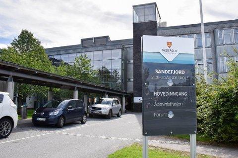 GAVE: To «områder» på Sandefjord Videregående skole er tilgodesett i Ellen Beate Brennes testamentet. Arkivfoto: Morten Fredheim Solberg